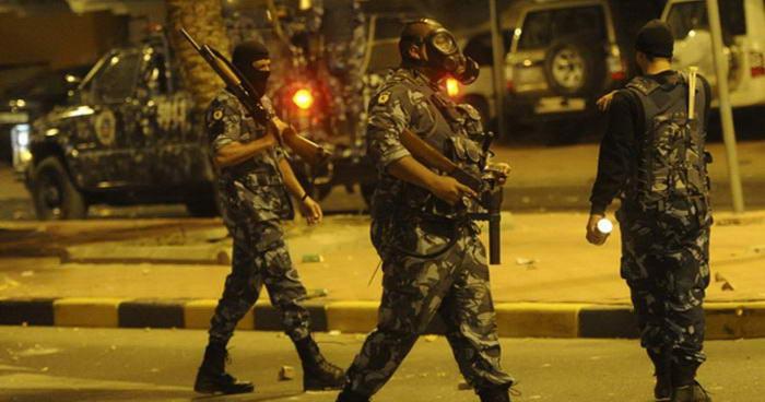 Kuwait riot police