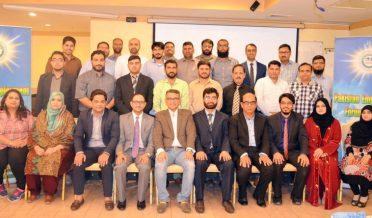 """پاکستان ایمپلائمنٹ فورم کویت کے زیر اہتمام """"موٗثر ٹیم ورک"""" کے موضوع پر ٹریننگ ورکشاپ کا اہتمام"""